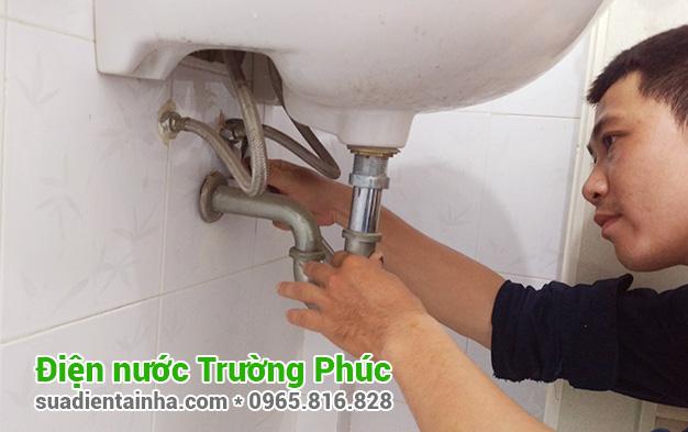 Sửa chữa điện nước tại Cống Vị