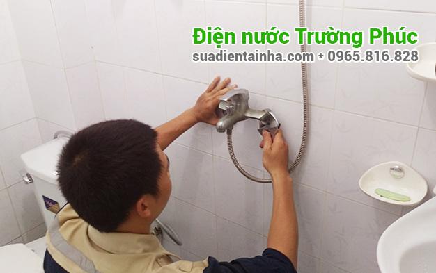 Sửa chữa điện nước tại Bạch Đằng