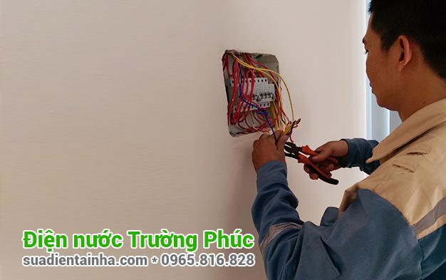 Sửa chữa điện nước tại Quảng An