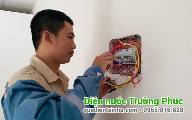 Sửa chữa điện nước tại Trung Liệt