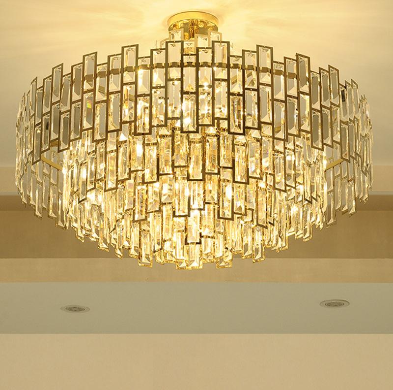 Đèn chùm, đèn trang trí cho biệt thự thêm sang trọng, đẳng cấp