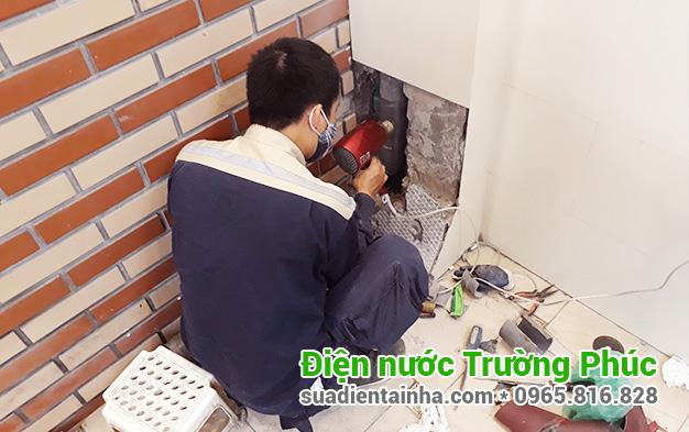 Sửa chữa điện nước tại Bưởi