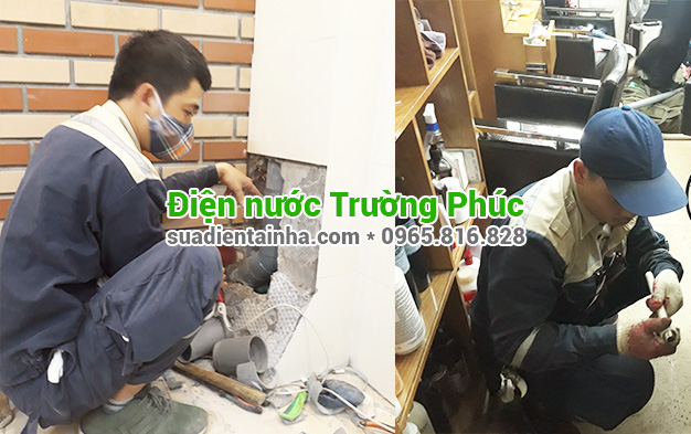 Sửa chữa điện nước tại Đồng Mai