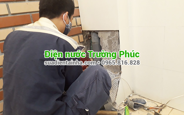 Sửa chữa điện nước tại Hà Cầu