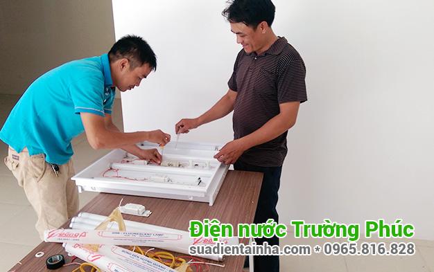 Sửa chữa điện nước tại Phú Lãm