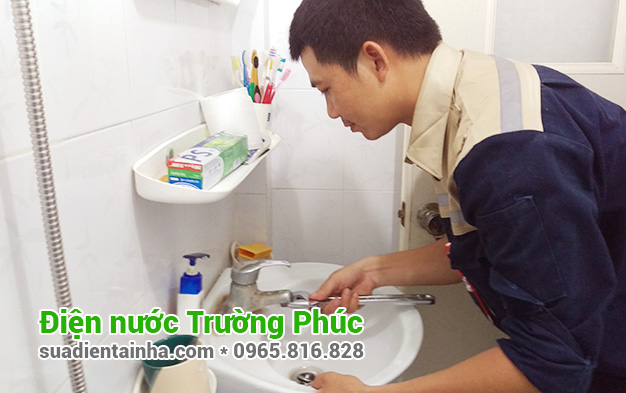 Sửa chữa điện nước tại Phúc Tân