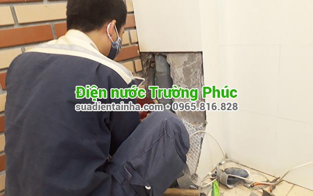 Sửa chữa điện nước tại Tràng Tiền