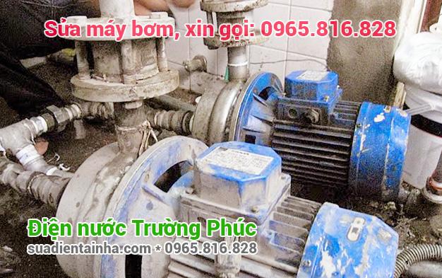 Sửa máy bơm tại Bạch Đằng