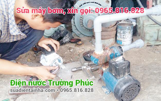 Sửa máy bơm tại Cầu Giấy