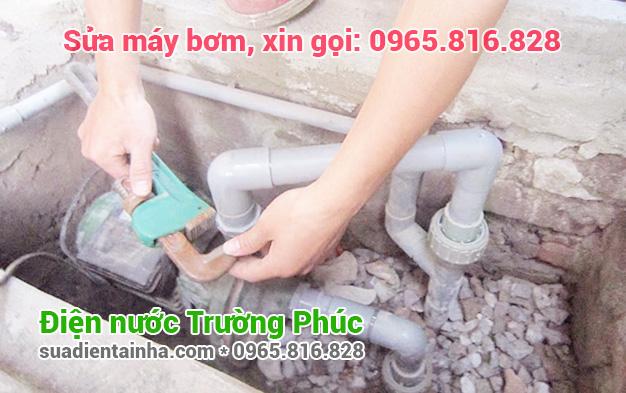 Sửa máy bơm tại Hàng Bông
