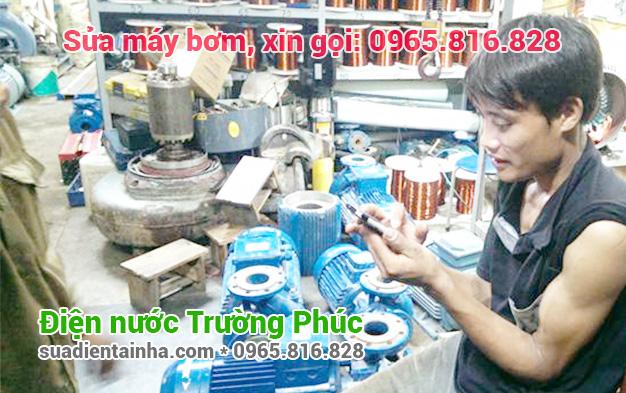 Sửa máy bơm tại Hàng Đào