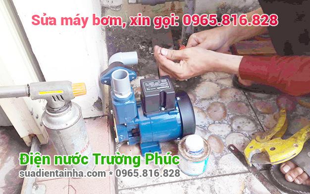 Sửa máy bơm tại Hàng Gai