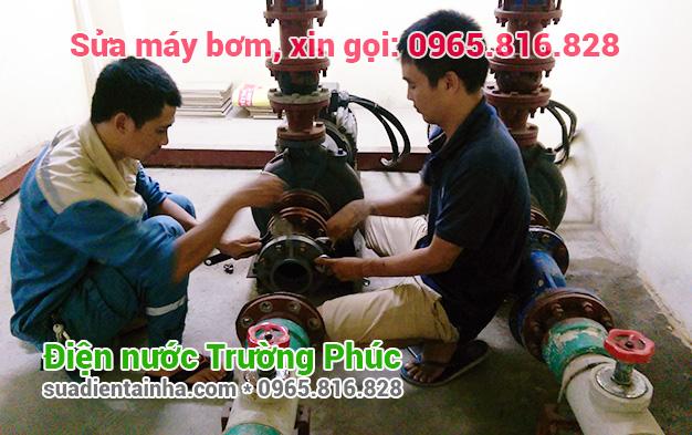 Sửa máy bơm tại Phan Chu Trinh