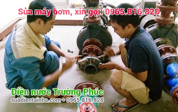 Sửa máy bơm tại Cổ Nhuế