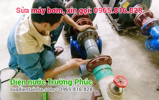 Sửa máy bơm tại Ô Chợ Dừa