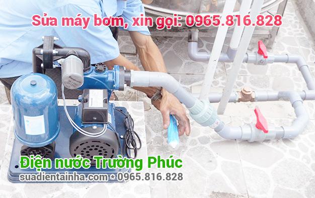 Sửa máy bơm tại Phú Đô