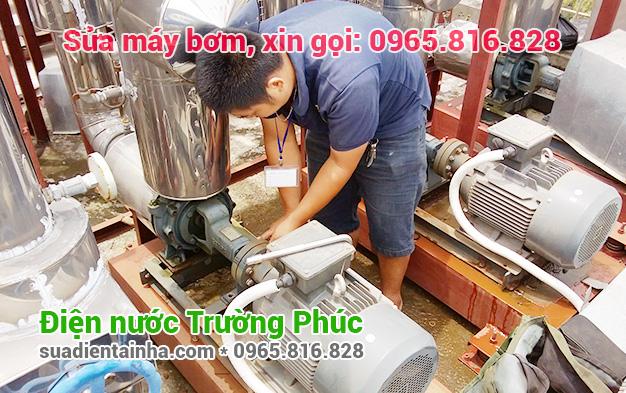 Sửa máy bơm tại Quảng An