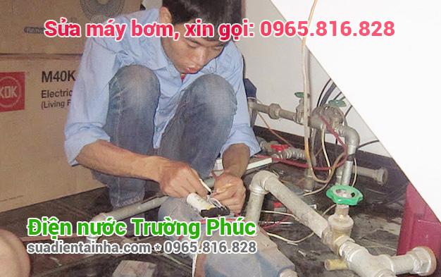 Sửa máy bơm tại Quang Trung