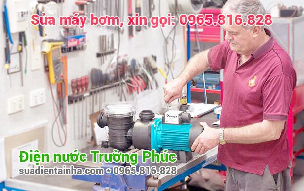 Sửa máy bơm tại Trúc Bạch